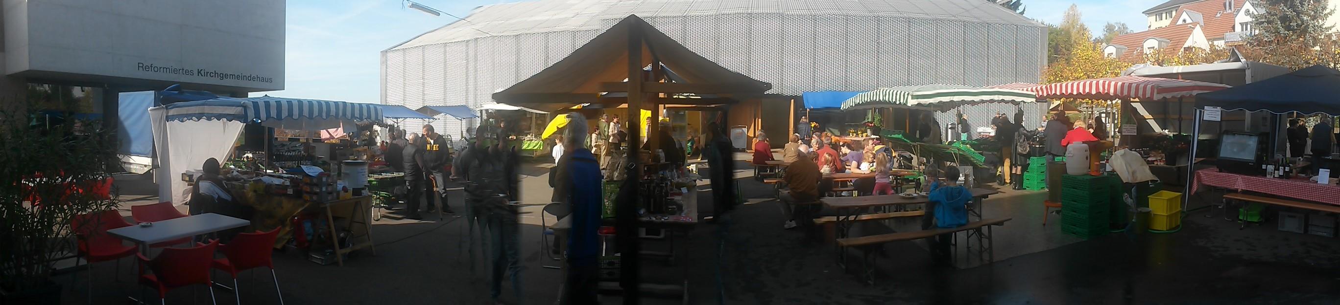 Leue Märt Männedorf Wochenmarkt