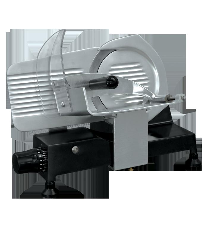 Kompakte italienische Aufschnittmaschine im edlen Design