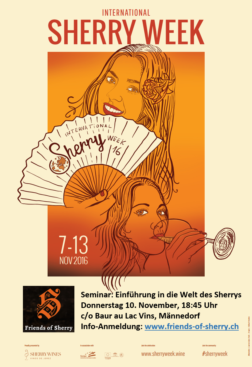 Friends of Sherry - International Sherry Week - Flyer - 2016