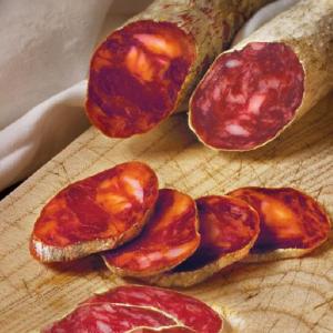 Chorizo-Salsiz vom-Iberico Schwein klein (aus Eichefütterung de Bellolta)
