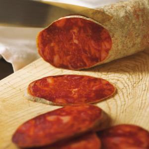 Chorizo-vom-Iberico (aus Eichefütterung de Bellota)