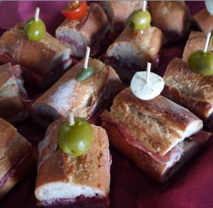 Partyservice Catering Zürich und am Zürichsee - Bocadillo Sandwiche Platten