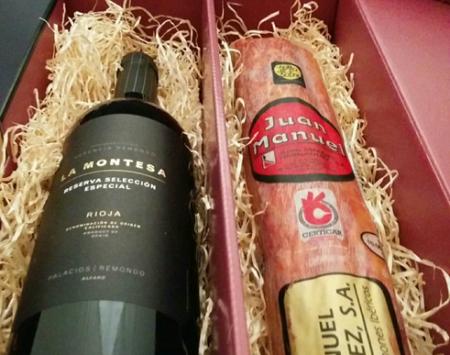 Geschnkpackung Wein und unsere Produkte