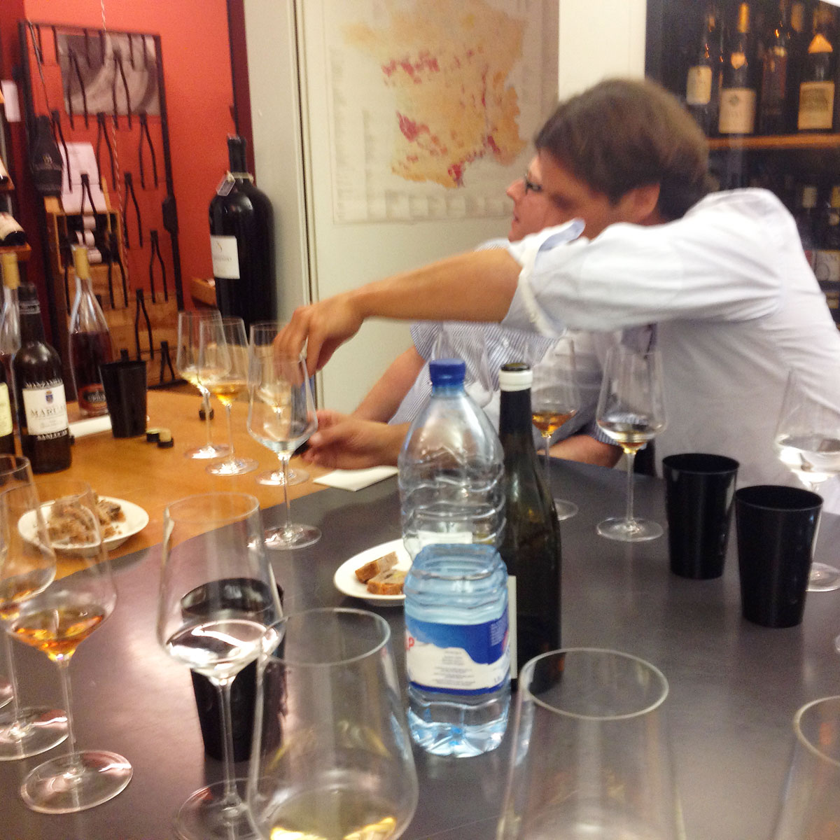 20150828 - Friends of Sherry Degustation 01