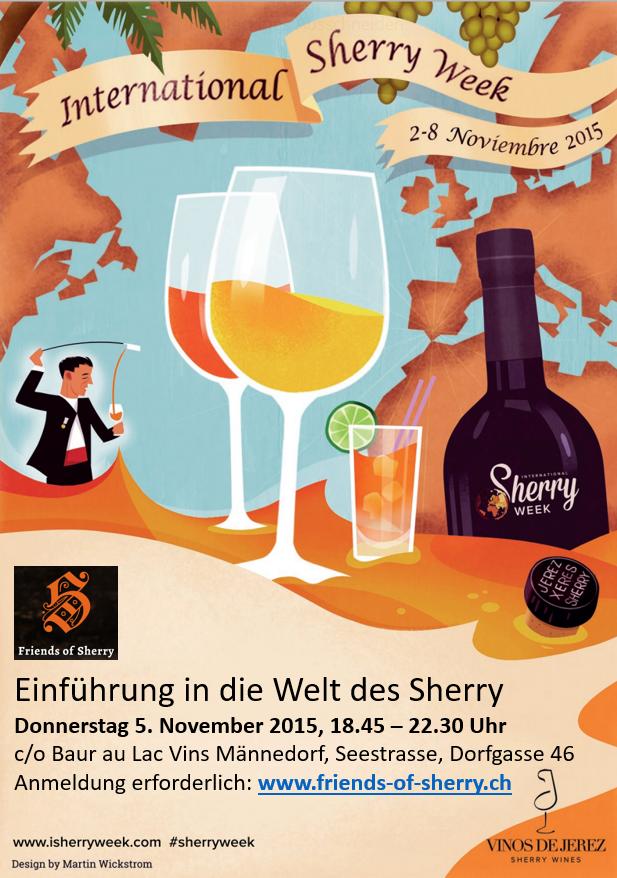 Internantional Sherry Week - Männedorf, Zürich, Zürichsee