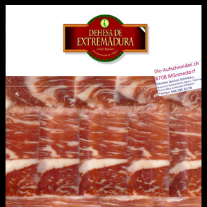 Iberico Schinken Handgeschnitten DOC Extremadura