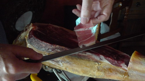 Jamon Ibérico - perfekt geschnitten